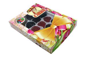 ягодный микс с клюквой, малиной, черникой, черноплодной рябиной